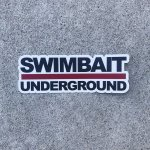 "<img class='new_mark_img1' src='//img.shop-pro.jp/img/new/icons55.gif' style='border:none;display:inline;margin:0px;padding:0px;width:auto;' />【SWIMBAIT UNDERGROUND】  ""Look up"" LOGO Sticker"