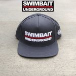 <img class='new_mark_img1' src='//img.shop-pro.jp/img/new/icons1.gif' style='border:none;display:inline;margin:0px;padding:0px;width:auto;' />SWIMBAIT UNDERGROUND</br>LOGO 5 PANEL SNAPBACK</br> CAP-Dark Grey