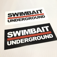 <img class='new_mark_img1' src='//img.shop-pro.jp/img/new/icons5.gif' style='border:none;display:inline;margin:0px;padding:0px;width:auto;' />【SWIMBAIT UNDERGROUND】 </br> LOGO Sticker</br>