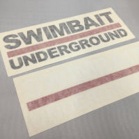 <img class='new_mark_img1' src='//img.shop-pro.jp/img/new/icons5.gif' style='border:none;display:inline;margin:0px;padding:0px;width:auto;' />【SWIMBAIT UNDERGROUND】 </br> LOGO TRANSFER Sticker</br>