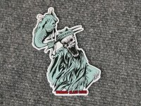 """<img class='new_mark_img1' src='https://img.shop-pro.jp/img/new/icons5.gif' style='border:none;display:inline;margin:0px;padding:0px;width:auto;' /> WCZ """"Liberty Death Bass Limited Sticker"""