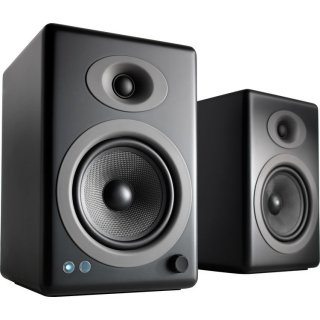 Audioengine A5/Monitorスピーカー黒(アンプ内蔵)2台1セット