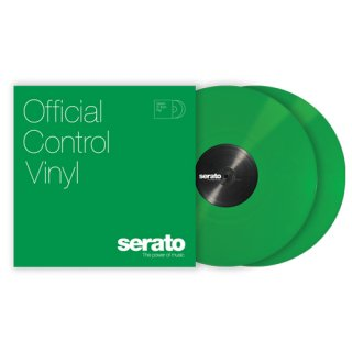 <img class='new_mark_img1' src='https://img.shop-pro.jp/img/new/icons14.gif' style='border:none;display:inline;margin:0px;padding:0px;width:auto;' />Serato/Control Vinyl / 2枚組マット・グリーン2.5最新バージョン