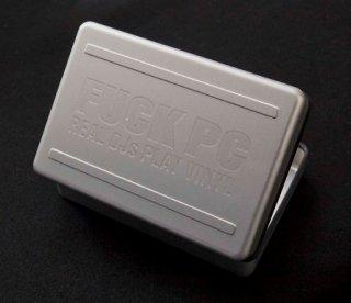 樽屋カートリッジケース/軽量アルミ製/全メーカー4本収納/交換針4本収納ポケット付/FPCC