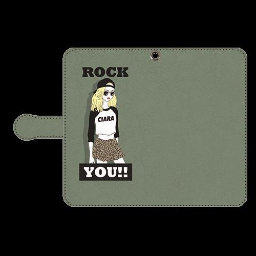 ROCK GIRL<br>〈手帳型〉