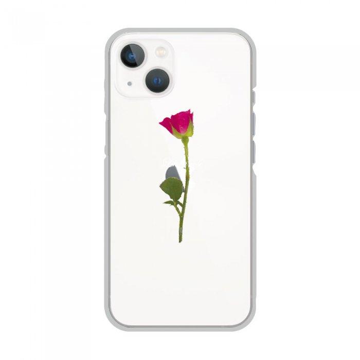 スマホケース<br>WATER ROSE<br>iPhone13対応<br>〈クリア〉