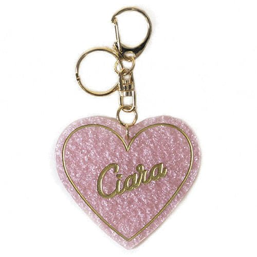 LOGO HEART CHARM PINK<br>スマホチャーム