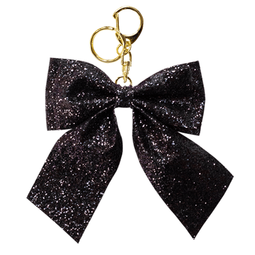 LAME RIBBON<br>CHARM BLACK
