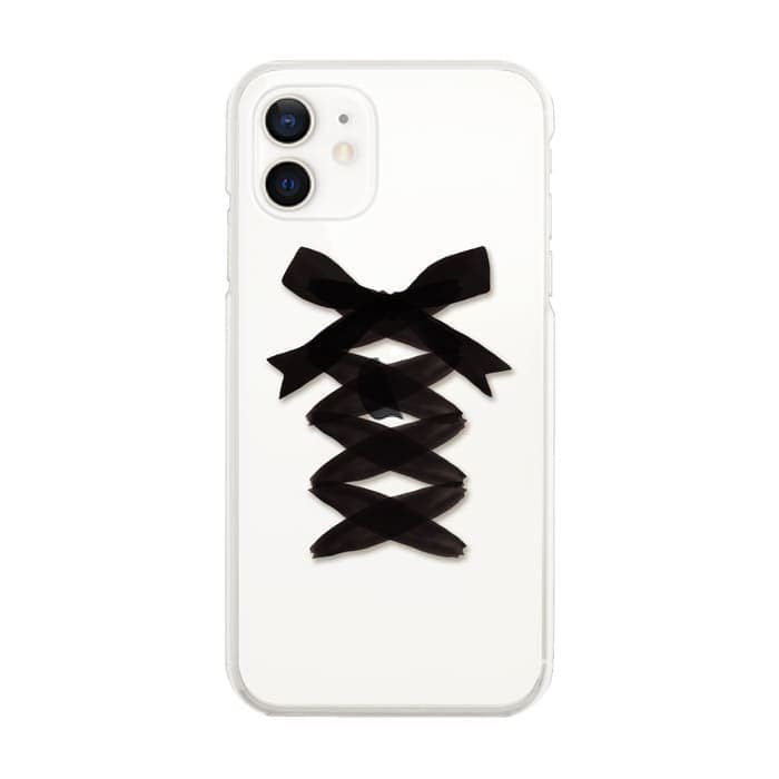 LACE UP BLACK RIBBON<br>〈クリア〉