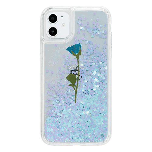 WATER BLUE ROSE<br>〈ハートグリッターBL〉