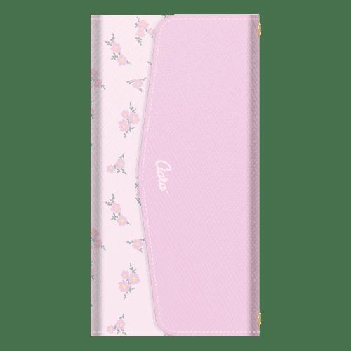 TINY FLOWER<br>PINK<br>〈3つ折り手帳〉