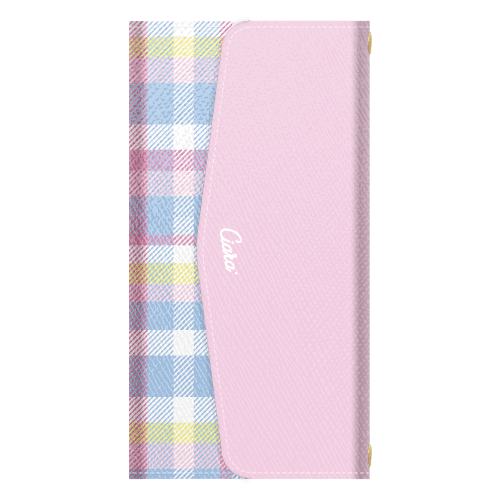 MADRAS CHECK<br>PINK<br>〈3つ折り手帳〉
