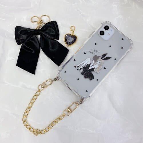 iPhone13miniケース・カバー透明クリア