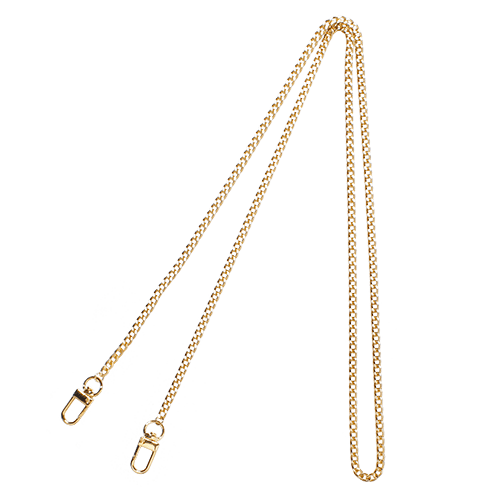 LONG NARROW CHAIN<br>STRAP GOLD