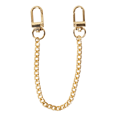 SHORT NARROW CHAIN<br>STRAP GOLD