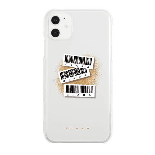 BAR CODE<br>〈クリア〉<img class='new_mark_img2' src='https://img.shop-pro.jp/img/new/icons5.gif' style='border:none;display:inline;margin:0px;padding:0px;width:auto;' />