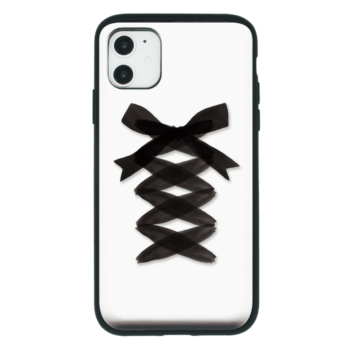 LACE UP BLACK RIBBON<br>〈スライドミラーIC〉