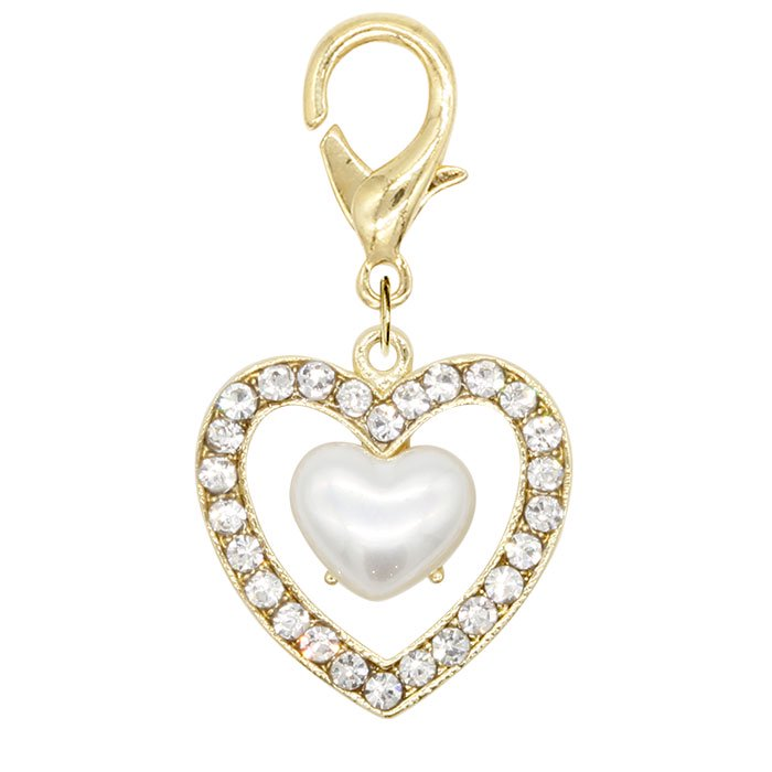MINI BIJOUX DOUBLE HEART<br>〈マルチチャーム〉