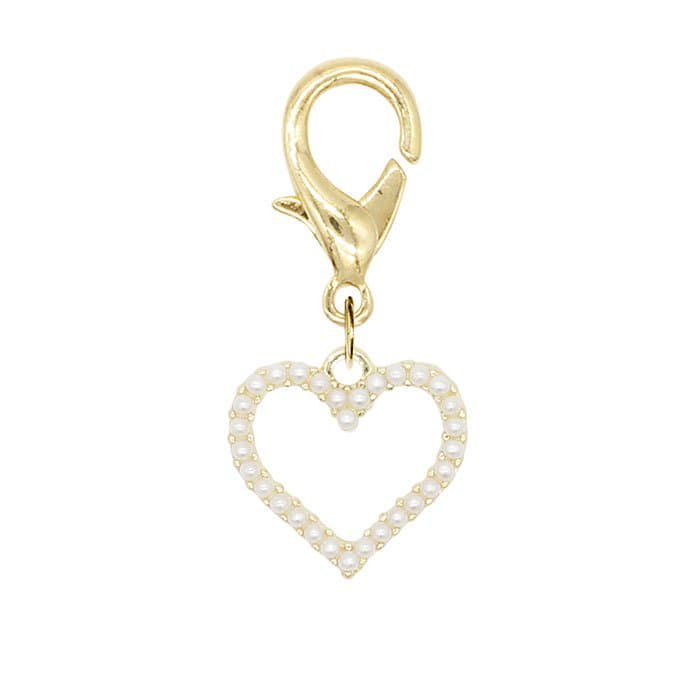 MINI PEARL SMALL HEART<br>〈マルチチャーム〉