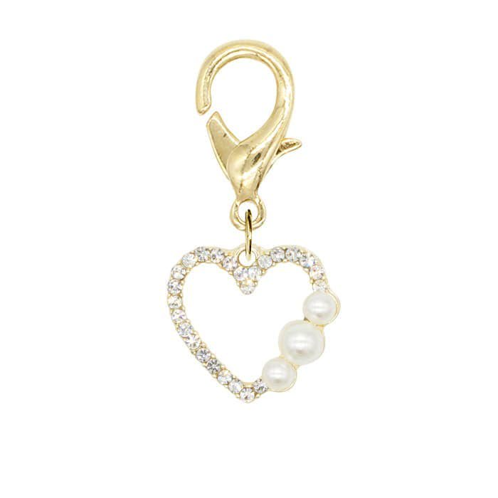 MINI BIJOUX PEARL HEART<br>〈マルチチャーム〉<img class='new_mark_img2' src='https://img.shop-pro.jp/img/new/icons5.gif' style='border:none;display:inline;margin:0px;padding:0px;width:auto;' />