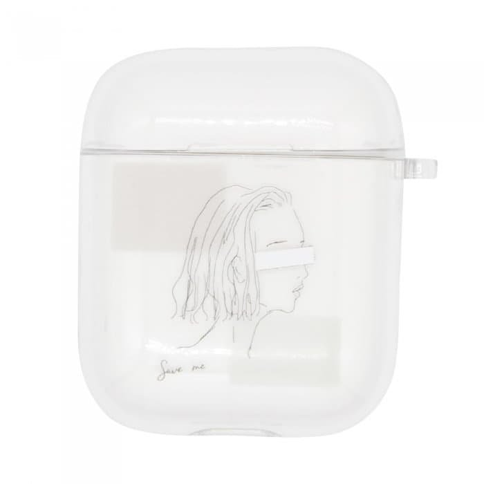 SAVE ME<br>〈クリアAirPods〉<img class='new_mark_img2' src='https://img.shop-pro.jp/img/new/icons5.gif' style='border:none;display:inline;margin:0px;padding:0px;width:auto;' />