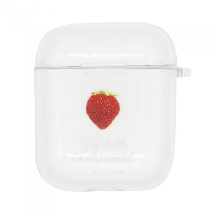 SWEET STRAWBERRY<br>〈クリアAirPods〉<img class='new_mark_img2' src='https://img.shop-pro.jp/img/new/icons5.gif' style='border:none;display:inline;margin:0px;padding:0px;width:auto;' />