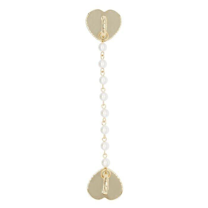 SMALL PEARL CHAIN CHARM<br> 〈チャーム〉<img class='new_mark_img2' src='https://img.shop-pro.jp/img/new/icons5.gif' style='border:none;display:inline;margin:0px;padding:0px;width:auto;' />
