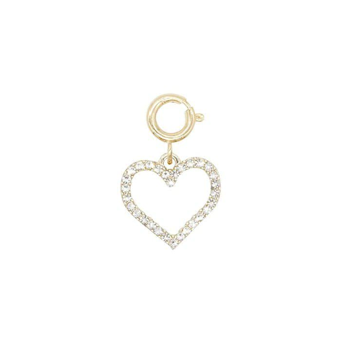 BIJOUX SMALL HEART PULL RING<br>〈チャーム〉