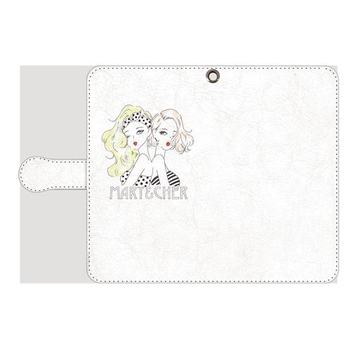 MARY&CHER<br>〈手帳型〉