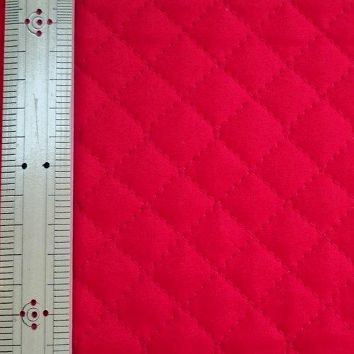 無地ブロード キルティング生地  赤 幅106cm(50cm以上10cm単位)