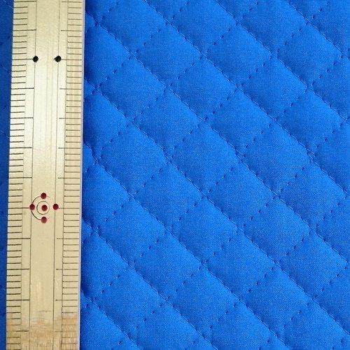 無地ブロード キルティング生地  青 幅106cm(50cm以上10cm単位)