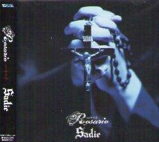 Sadie「Rosario-ロザリオ-」 (マキシCD) ※通常盤 ※状態・A