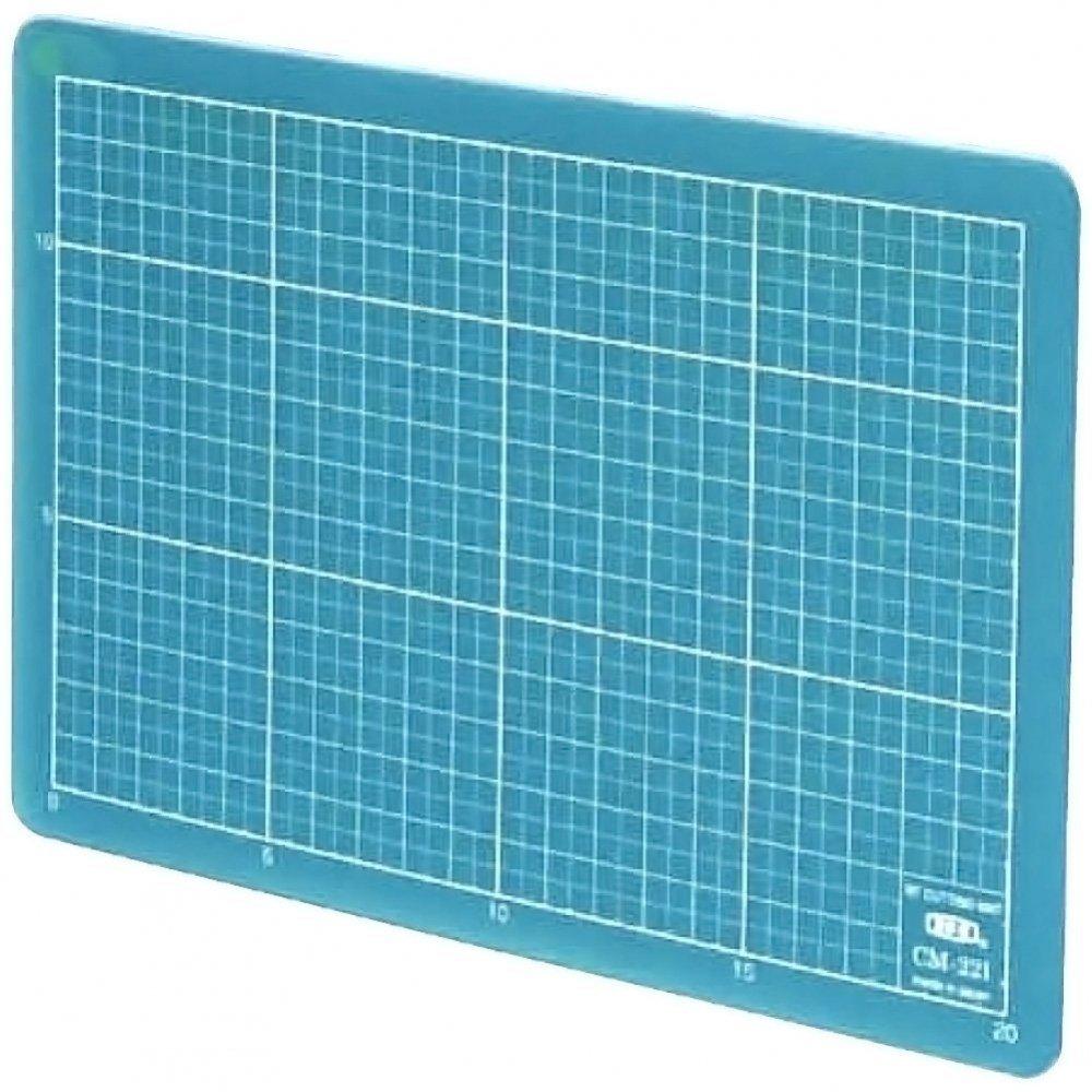 エヌティー カッティングマット オレフィン系樹脂 A5 CM-22i-B クリアブルー