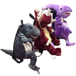 ぬいぐるみ恐竜リュック