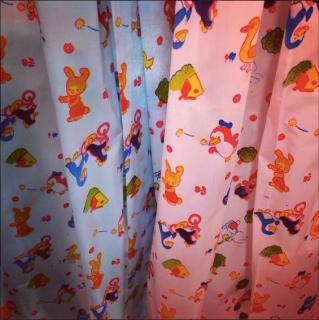 動物柄シャワーカーテン