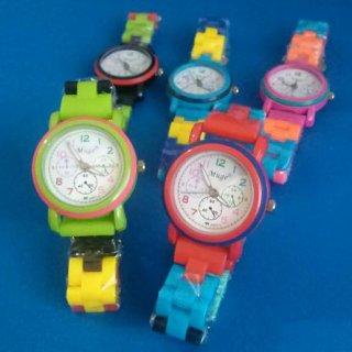カラフル腕時計