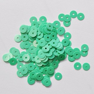 エメラルドグリーン  5g・平丸・5mm