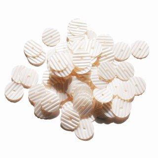 パーリーオフホワイト  2g・シマシマでこぼこ・8mm