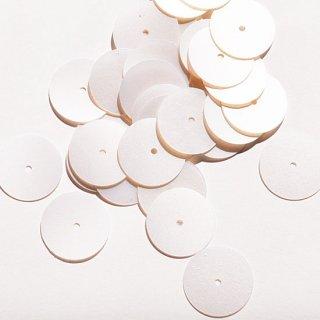 パーリークリームホワイト  2g・平丸・12mm