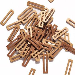 マットアンティークゴールド  2g・長方形・3x12mm