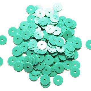 オパック ターコイズグリーン  5g・平丸・6mm