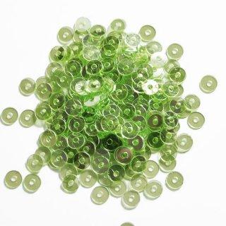 グラスグリーンラスター  5g・平丸・4mm