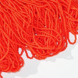 オパック オレンジ(※やや小さいサイズ) 糸通し・12/0・チェコ製