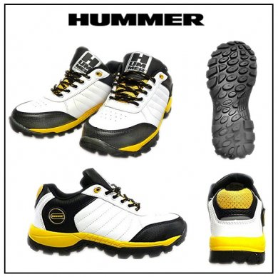 【HUMMER】安全スニーカー(ローカットタイプ)<img class='new_mark_img2' src='https://img.shop-pro.jp/img/new/icons47.gif' style='border:none;display:inline;margin:0px;padding:0px;width:auto;' />