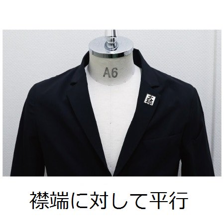 <img class='new_mark_img1' src='https://img.shop-pro.jp/img/new/icons10.gif' style='border:none;display:inline;margin:0px;padding:0px;width:auto;' />BEYOND SUIT 社章マーキング(襟)