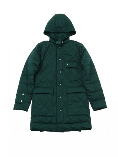 Quilted Hood Coat/キルトフードコート