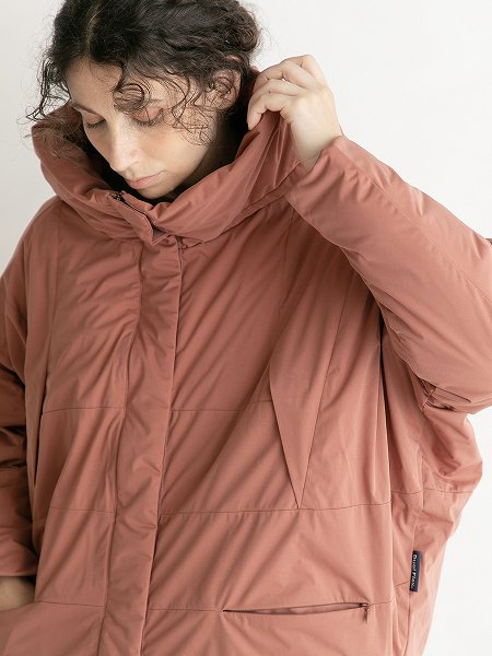 Cocoon Hood Jacket/コクーンフードジャケット