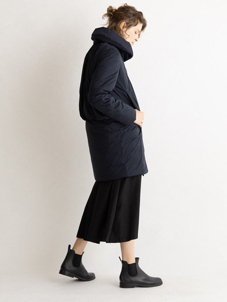 Shawl Collar Back Gather Coat/ショールカラーバックギャザーコート