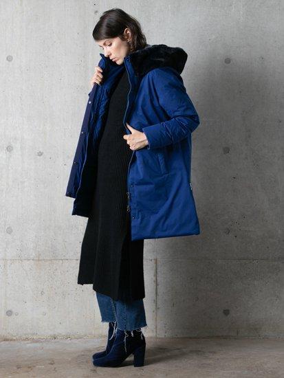 Eco Fur Big Hood Coat/エコファービッグフードコート