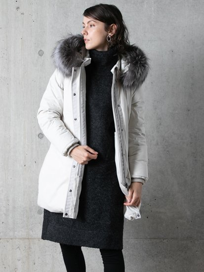 Fur Hood Coat/ファーフードコート